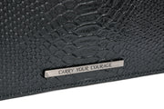 Wren & Roch Love Note Crossbody Clutch - Power rear detail