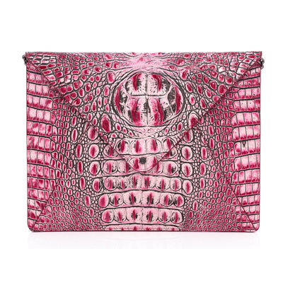 Wren & Roch Love Note Crossbody Clutch - Passion front view