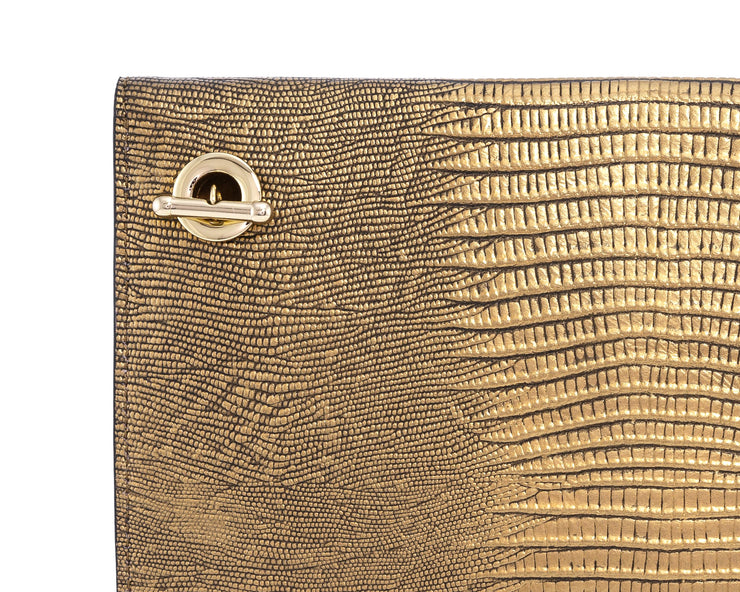 Wren & Roch Love Note Crossbody Clutch - Prize rear chain strap detail