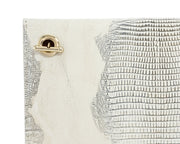 Wren & Roch Love Note Crossbody Clutch - Pristine rear chain strap detail
