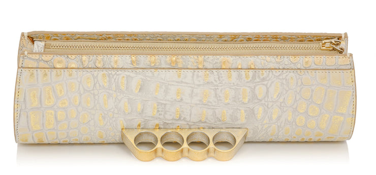 Wren & Roch Street Smart Clutch - Sun Kissed top view