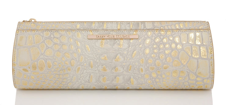 Wren & Roch Street Smart Clutch - Sun Kissed back view