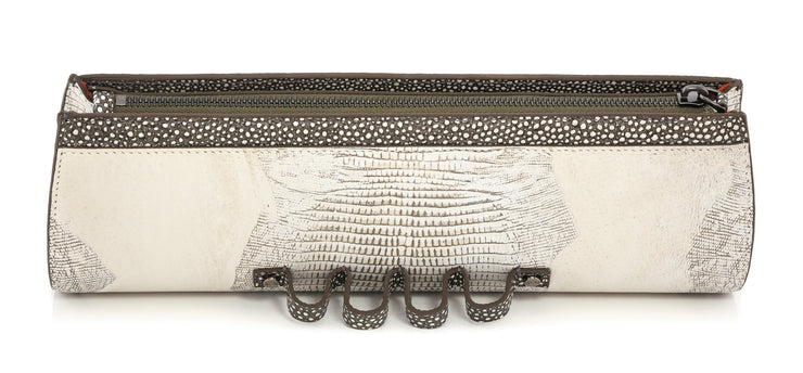 Wren & Roch Street Smart Clutch - Full Moon top view