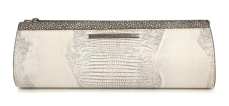 Wren & Roch Street Smart Clutch - Full Moon back view