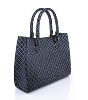 Wren & Roch Amazing Grace Handbag - Quilted Queen angled view