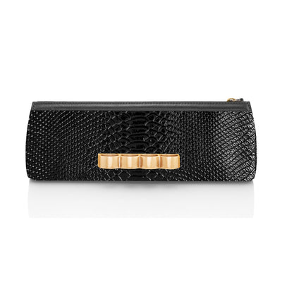 Wren & Roch Street Smart Clutch - Gold Warrior front view