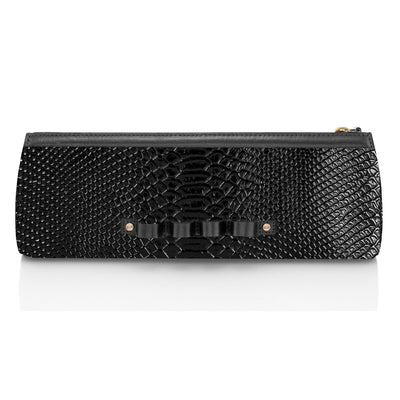 Wren & Roch Street Smart Clutch - Leather Warrior front view