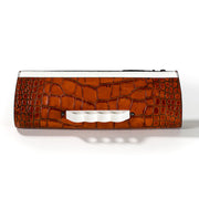 Wren & Roch Street Smart Clutch - B**** is the New Black front view