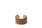 Wren & Roch Leather Cuff - Tan Hide front view