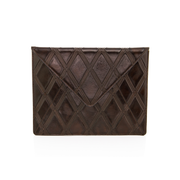Wren & Roch Love Note Clutch - Deep Thoughts front view