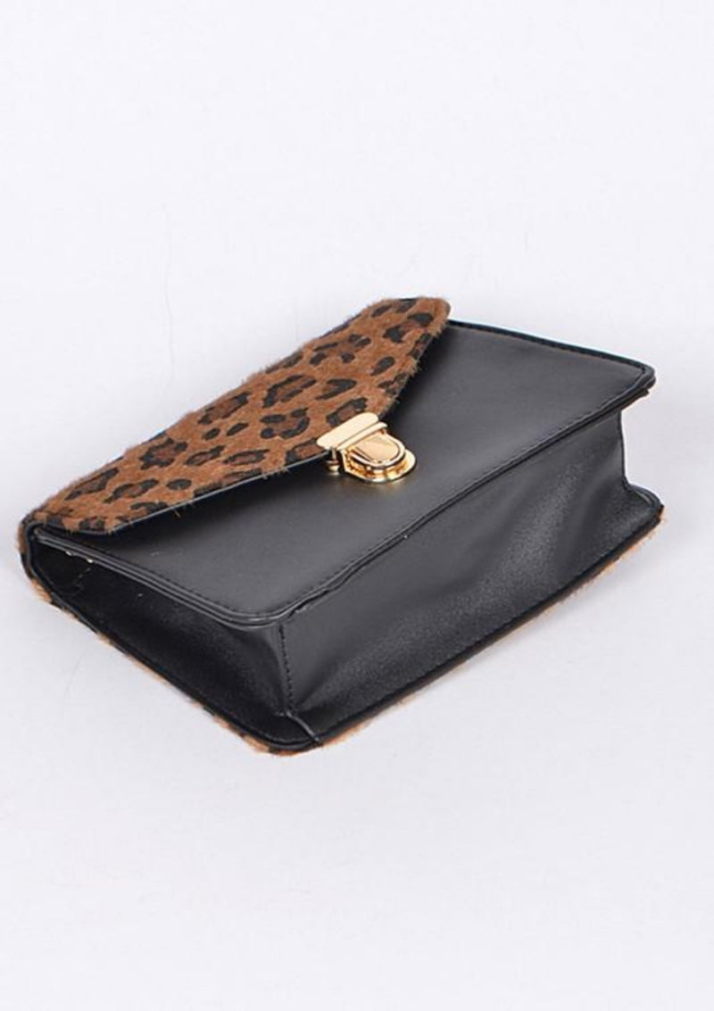 It's All About Me  Leopard Bag - GlamLusH Boutique