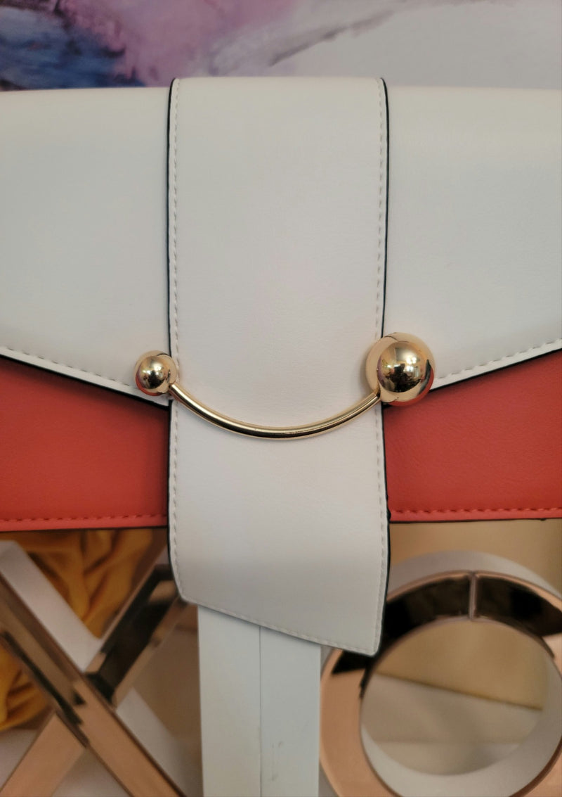 Jasmin Colorblock Shoulder Bag - GlamLusH Boutique