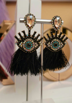 All Eyes on Me  Tassels Earrings - GlamLusH Boutique