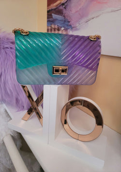 Sassy Multi Color Jelly Shoulder Bag - GlamLusH Boutique