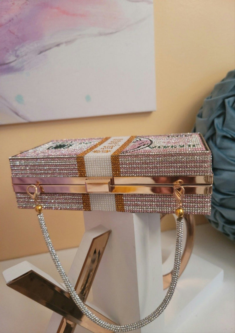 Crystal Diamond Clutch - GlamLusH Boutique