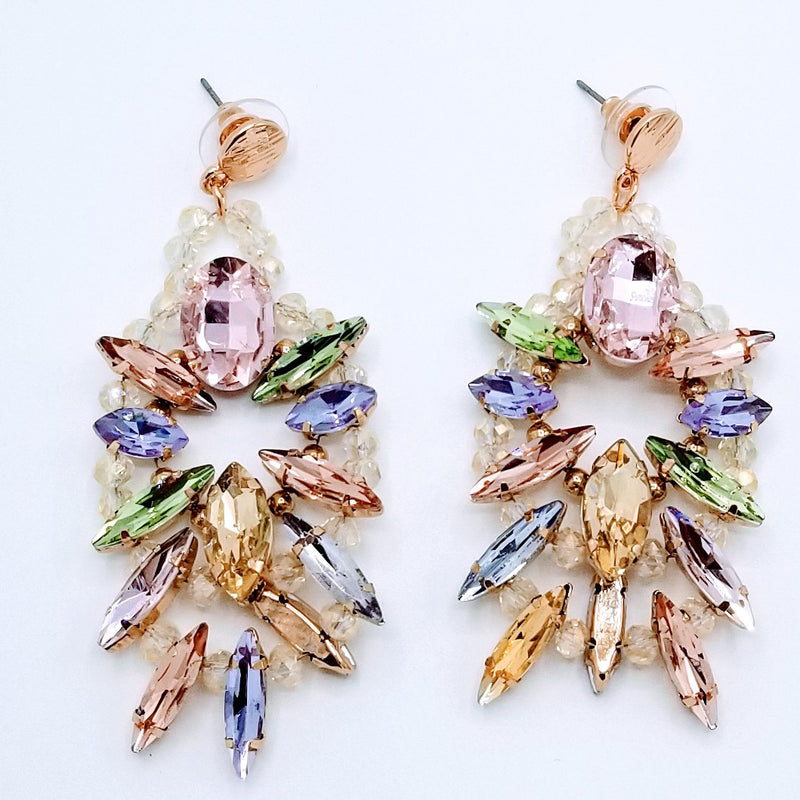 Marquise Post Drop Earrings - GlamLusH Boutique