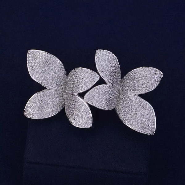 Fashion Flower Leaf Ring - GlamLusH Boutique