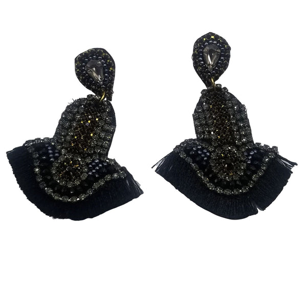 Zuri Tassel Drop Earrings - GlamLusH Boutique