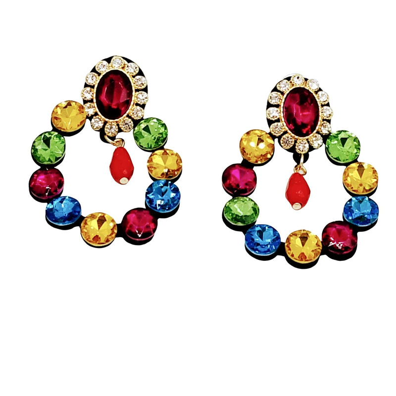 Multi color Earrings - GlamLusH Boutique