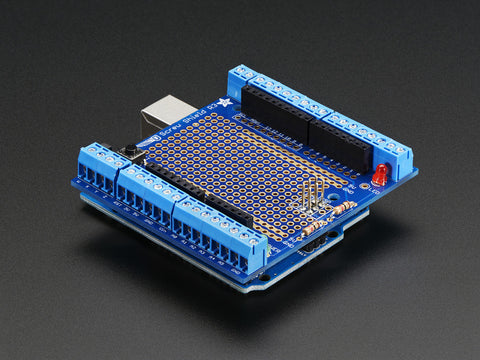 Adafruit Proto-Screwshield (Wingshield) R3 Kit für Arduino