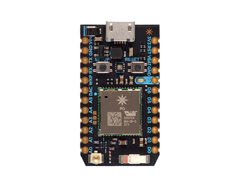 Photon Board von Particle