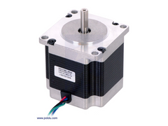 Stepper Motor: Bipolar, 200 Steps/Rev, 57x56mm, 2,5V, 2,8 A/Phase