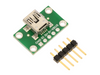 Pololu USB Mini-B Connector Breakout Board