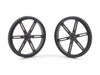 Pololu Wheel 90x10m Pair - Black