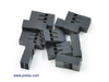 "0.1"" (2.54mm) Crimp Connector Housing: 2x3-Pin 10-Pack"