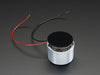 Medium Surface Transducer with Wires - 4 Ohm 3 Watt