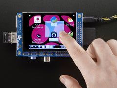 "Adafruit PiTFT Kit - 320x240 2,8"" TFT + Kapazitiven Touchscreen"