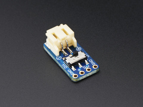 Switched JST PH PH 2-PIN SMT Right Angle Breakout Board