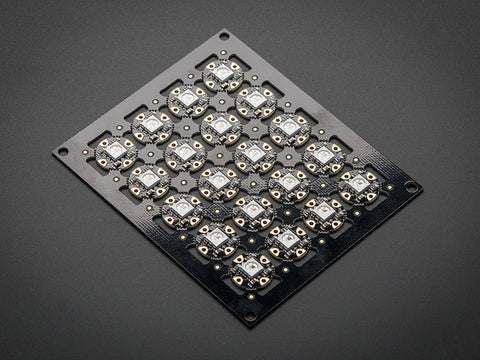 Adafruit Flora RGB Smart NeoPixel version 2 - Sheet of 20