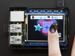 "Adafruit PiTFT 2.4"" HAT Mini - 320x240 TFT Touchscreen - Pi 2/ B+"