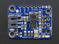 Adafruit PowerBoost 500 Basic - 5V USB Boost @ 500mA from 1.8V+