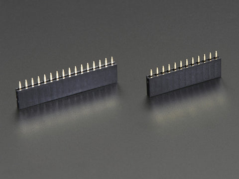 Adafruit Feather-Header-Kit - 12-Pin und 16-Pin (kurz)