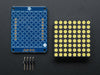 "Adafruit Kleine 1.2"" 8x8 weiße LED Matrix + Backpack"