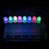 LED - RGB Addressable, PTH, 8mm (5 Pack)