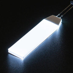 White LED Backlight Module - Small 12mm x 40mm