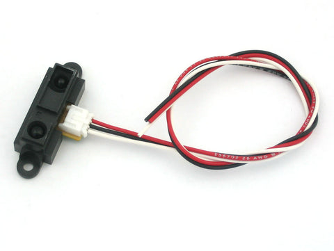 Sharp IR distance sensor includes cable (10cm-80cm) - GP2Y0A21YK0F