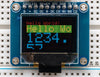 "OLED Breakout Board - 16-bit Color 0.96"" w/microSD holder"