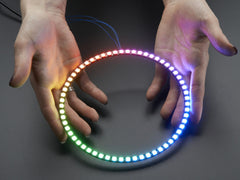 Adafruit NeoPixel 1/4 60 Ring - WS2812 5050 RGB LED