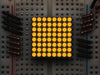 Mini 8x8 Yellow-LED-Matrix