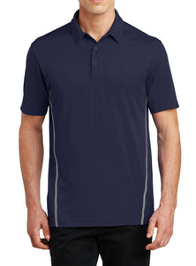 Sport-Tek® Contrast PosiCharge® Tough Polo with embroidery