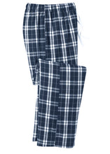 Load image into Gallery viewer, District ® Flannel Plaid Pant with embroidery - Mens and Womens