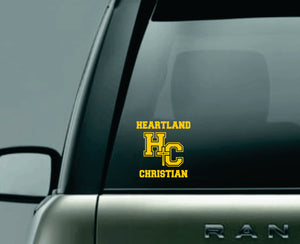 **NEW** Heartland Christian Car Decal