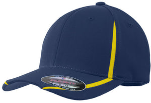 Sport-Tek Flexfit Performance Colorblock Cap with embroidery