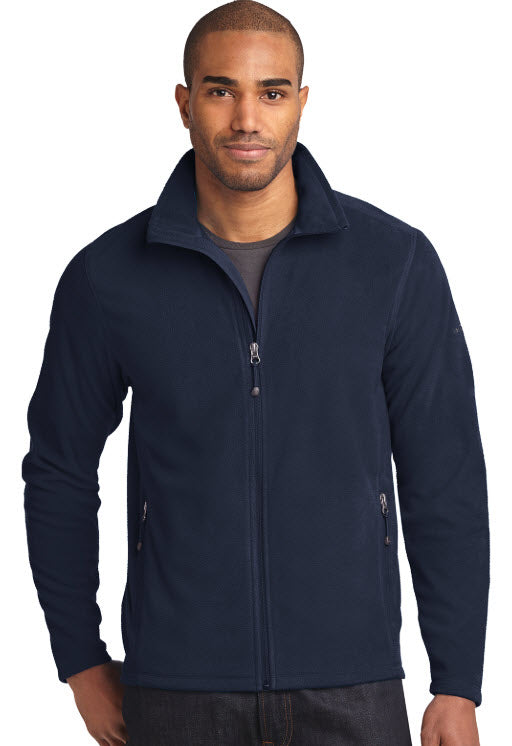 Eddie Bauer Full Zip Microfleece Jacket with embroidery