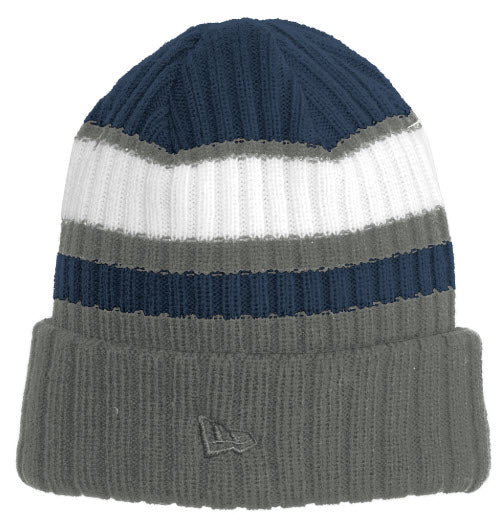 New Era® Ribbed Tailgate Beanie with embroidery