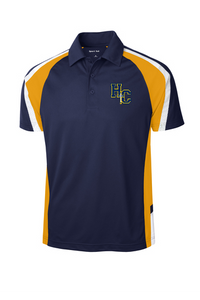 Sport-Tek® Tricolor Micropique Sport-Wick® Polo with embroidery